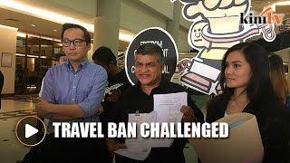 Zunar challenges travel ban in court