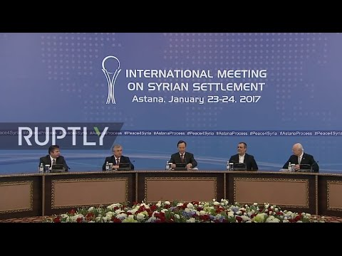 LIVE: Syria talks in Astana - press conference (ENGLISH)