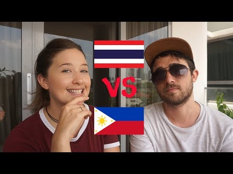 Philippines OR Thailand Which Is Best To Travel