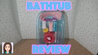 My Sweet Love Bathtub Review! Bathtub For Baby Alive Dolls!