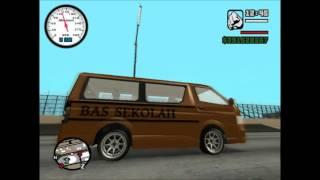 GTA SA - Toyota Hiace School Bus V2