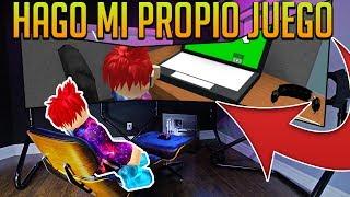 HAGO MI PROPIO JUEGO Y ME HAGO RICO - Game Development Tycoon - ROBLOX