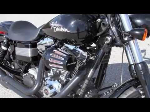 BAD ASS HARLEY DAVIDSON DYNA WITH SCREAMIN EAGLE 120R WITH LOUD PIPES