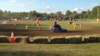Lawnmower Racing at Summer Festival 2016 Potsdam NY