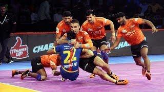 Pro Kabaddi 2018 Highlights | U Mumba vs UP Yoddha | Hindi