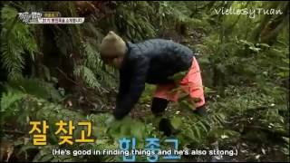 [Eng] GOT7 Mark   Law of the Jungle Ep. 265