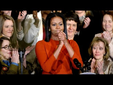 Michelle Obama Makes Final Emotional Speech as First Lady