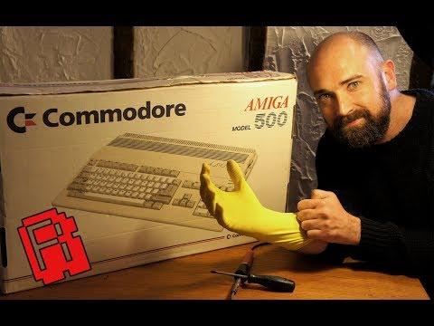 Xxx Mp4 Amiga 500 Trash To Treasure Pt 1 A Rare Amiga Find 3gp Sex