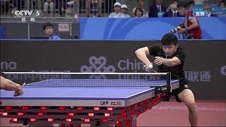 2017 China National Games (Ms-Final) 马龙 MA Long Vs FAN Zhendong 樊振东  [Full Match/Chinese|HD1080p]