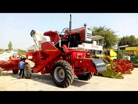 Tafe MF 9500 4WD TOCH combine full feature & specification