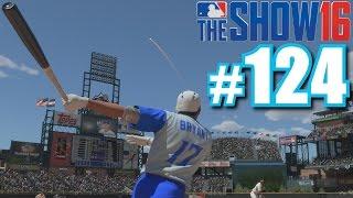 LONGEST DIAMOND DYNASTY HOME RUN! | MLB The Show 16 | Diamond Dynasty #124