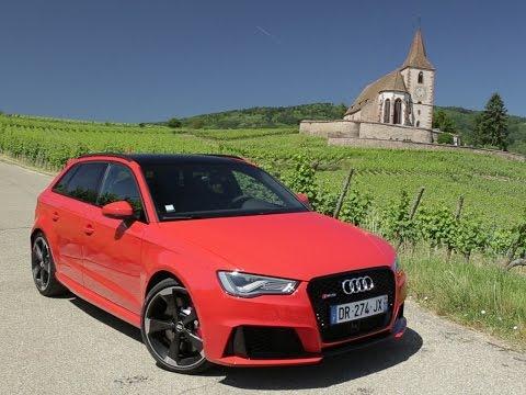 Essai Audi RS3 Sportback 2015