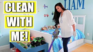 Clean With Me: Cleaning My Kids' Room