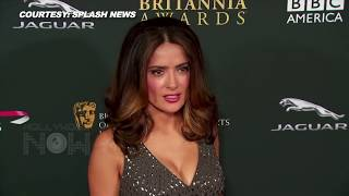 Salma Hayek Goes TOPLESS At 50 | UNSEEN PICTURES