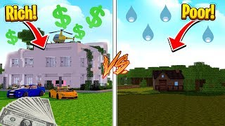$10 POOR HOUSE VS $10,000,000 RICH HOUSE! (House Vs House Challenge)
