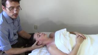 Massage Tutorial: Myofascial release for headache (with trigger point therapy!)
