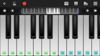 Remo   Sirikadhey song   piano cover   perfect piano apk