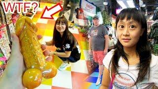 Buying Weird Stuff At Bangkok Market - This Soap Is Insane