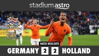 Germany 2 - 2 Netherlands | UEFA Nations League Highlights| Astro SuperSport