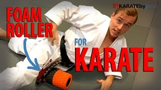 HOW TO FOAM ROLL FOR KARATE | Top 3 Exercises — Jesse Enkamp