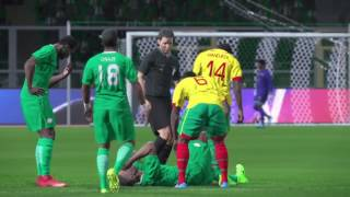 PS4 PES 2017 Gameplay Nigeria vs Cameroon HD