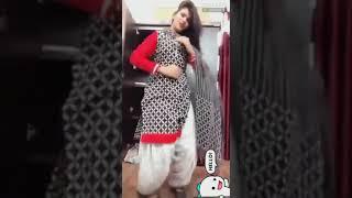 Desi girl private room dance