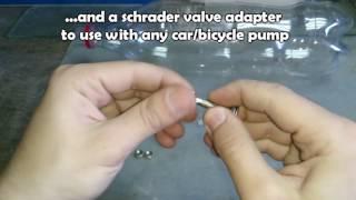 Make a 2L Coke Bottle Air Tank Upgraded Version