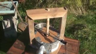 My attempt at Primitive Technology's Forge Blower