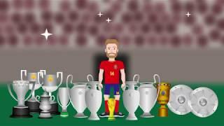 Xabi Alonso Infography - (Animated by Daniel Ongko)