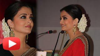 Aishwarya Rai Bachchan Sizzles In Red Saree!