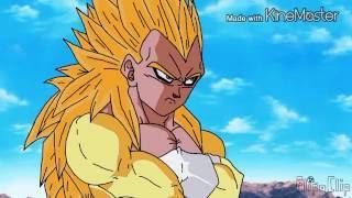 Dragon Ball Goku SSJ 6 vs vegeta SSJ 6