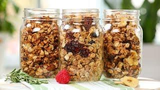 Healthy Granola   3 Delicious Recipes