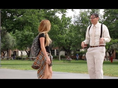Nerd Picks Up a Girl by Rapping