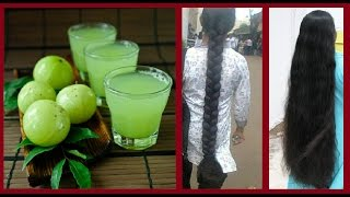 🌿Amla Juice for Long Black Hair🌿 How to Make Amla Juice at Home