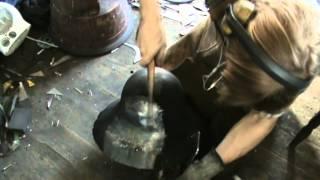 Raising a helmet - Old School Making Armour Armor