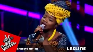 "Lesline - ""Sweet mother"" Prince Nico Mbarga | Epreuve ultime - The Voice Afrique francophone 2016"