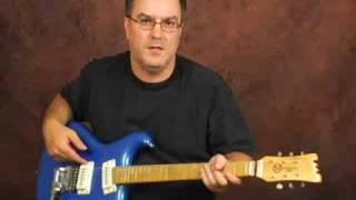 Review Mosrite M88 guitar thru Fender amp Semie Moseley