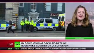 Britain admits OPCW did not confirm