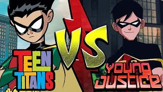 Teen Titans VS Young Justice! | Nerdfight