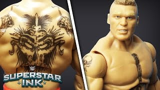 The Beast Brock Lesnar shows his Tattoos: Superstar Ink