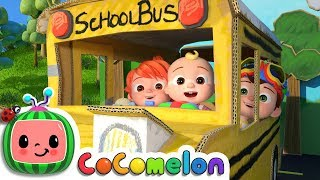 Wheels on the Bus 2   CoCoMelon Nursery Rhymes