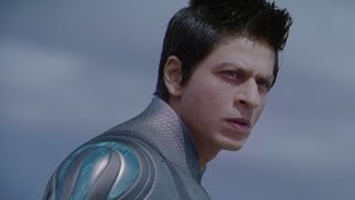 G One rescues Sonia and Prateek - Ra One