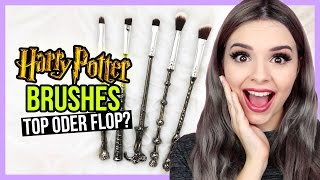 HARRY POTTER PINSEL?! • Review & Demo + Verlosung! • Top Oder Flop?!