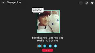 EXO Imagine: Skype call with Chanyeol ( +3D AUDIO )