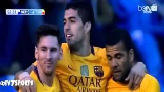 اهداف مباراة برشلونة وديبورتيفو لا كرونيا 8-0 [2016/04/20] تعليق سوار الذهب [HD]