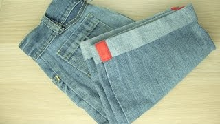 Make Stylish Shorts from Old Jeans - DIY Style - Guidecentral