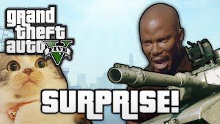 GTA V: SURPRISE MOTHERFUCKER! (GTA 5 Online Funny Moments)