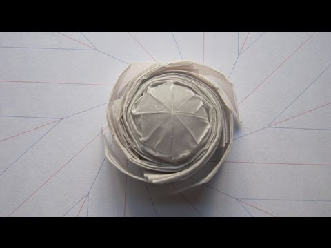 Origami tutorial octagonal flasher spinner 20 seconds origamitourist