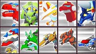 Transformers Rescue Bots: Dino Island + Dino Robot Corps | Eftsei Gaming