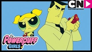 The Powerpuff Girls | Bubbles and the Professor | Cartoon Network